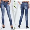 Шикарный вариант повседневной практичной одежды для девушки – джинсы в приятном цвете.