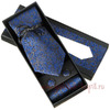 Галстук G-Faricetti N22SI-74-1453 в подарочном наборе Код: 1784