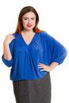 Эффектная свободная блуза( размеры 52-70)