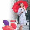 Зонт с проявляющимся рисунком, красный