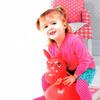 Игрушка детская «ЛОШАДКА-ПОПРЫГУН» красный