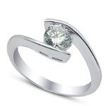 Серебряное кольцо      Артикул: 21set10749-113