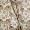 Портьера Имитация льна Феломена Артикул: 24/V-06-2 коричневый
