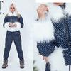 Любишь прогулки и активные игры снежной зимой? Значит такой комбинезон из новой коллекции как раз для тебя!