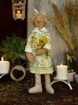 Ш039 Гномочка Лизи. Набор для шитья куклы