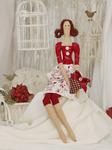Ш048 Мадемуазель Хелен. Набор для шитья куклы