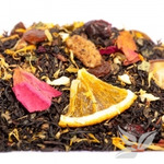 Черный ароматизированный чай Джура