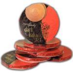 Вафли (оплатки), с темным шоколадом, 105 гр.