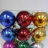 Новогодний шар (разный диаметр) набор 20 штук