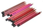 Карандаши для губ NYX разноцветные (12шт)