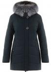 Удлиненная зимняя куртка KR-18827