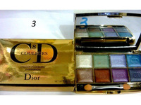 Тени CD colour iridescent eye shadow (8цв.)(7 перламутр+1 мат.тон) №3