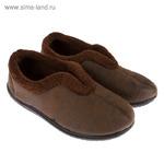 Тапочки мужские арт. BBM70125-08, цвет коричневый, размер 41