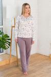 Костюм (блуза + брюки), арт. 0663