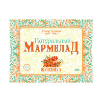 Мармелад натуральный без сахара Облепиха, 160 г