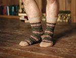 Носки шерстяные N6R84-1