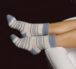 Носки шерстяные N1R10-4