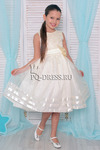 Платье нарядное для девочки арт. ИР-908, цвет ваниль