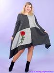 Платье-туника Красная роза Magesty