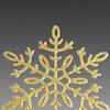 Набор Снежинок золотых