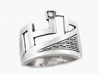 Кредо Кольцо из серебра 925 пробы с фианитом