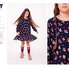 Платье детское для девочек Peterhof темно-синий [0922106003#5]