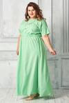 Платье 001а-14 шартрез 56-66