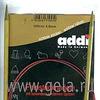 Спицы 100 см 3.75-5 ADDI позолоченные круговые с удлиненным кончиком для тонкой пряжи