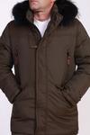 Куртка зимняя 6590-Р т. зеленый