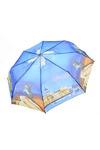Зонт жен. Universal L389 полуавтомат