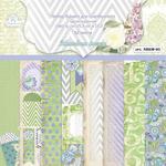 Набор бумаги для скрапбукинга арт.NBKM05 Мелодия весны 15,2х15,2 см 180г/м^2