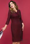 Платье Сальма (рубин классик)
