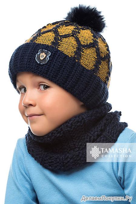 Комплект «Джек» (шапка+снуд)