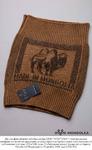 Пояс вязаный 100% шерсть верблюда