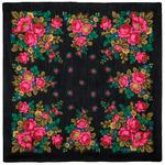 """Платок из шерстяной разреженной ткани, с подрубкой """"Тропинка"""", вид 18, 115х115 см Рисунок 137-18"""