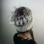 "Меховая шапка "" Водопад "" цвет шиншилла#2, мех кролик рекс Подробнее: https://xn-----7kcgobxpmiohaje2czb8cyc.xn--p1ai/p308885878-mehovaya-shapka-vodopad.html"