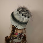 """Меховая шапка """"Хризантема"""" мех кролик, цвет коричневой шиншиллы Подробнее: https://xn-----7kcgobxpmiohaje2czb8cyc.xn--p1ai/p292871716-mehovaya-shapka-hrizantema.html"""