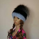 """Меховая шапка """" Барбара """" ярчёный голубой, мех кролик рекс Подробнее: https://xn-----7kcgobxpmiohaje2czb8cyc.xn--p1ai/p290843342-mehovaya-shapka-barbara.html"""