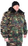 Куртка утеплённая Норд цв. Зел КМФ тк. Смесовая Могилёв