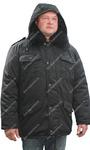 Куртка утеплённая Зима цв. Чёрный тк. Смесовая Могилё