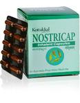 Нострикап, для лечения заложенности носа и простуды, 100 кап, производитель Коттаккал Аюрведа; Nostricap, 100 caps, Kottakkal Ayurveda