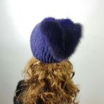 "Меховая шапка ""Косынка"" мех ондатра, цвет фиолетовый Подробнее: https://xn-----7kcgobxpmiohaje2czb8cyc.xn--p1ai/p327998976-mehovaya-shapka-kosynka.html"