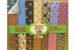 Набор бумаги для скрапбукинга ''Народные промыслы'',12л СКБ-001