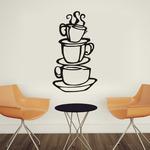 Интерьерная наклейка на кухню Ароматный кофе