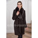 Зимнее пальто - шоколадного цвета