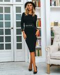Платье черный Б*П3003