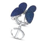 Серебряное кольцо Артикул: 010372-226c-113