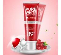 Отбеливающая зубная паста BioAqua Pure White со вкусом клюквы