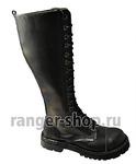 """Ботинки высокие Ranger """"Black"""" 16 колец"""