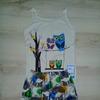"""Комплект майка и шорты (пижама) для девочки ТМ """"ЮЛЛА"""" (г.Смоленск), р.68/122-128"""